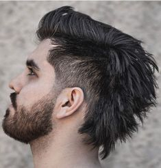 Mullet Haircut, Mohawk Mullet, Mullet Hairstyle, Mohawk Hairstyles Men, Boys Long Hairstyles, Haircuts For Men, Virtual Hairstyles, Formal Hairstyles, Mens Mullet