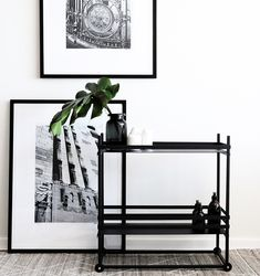 A stylish modern drinks or decor cart. Refined lines and perfect size make this an apartment must! South African Design, Dark Horse, Modern Furniture, Cart, Horses, Drinks, Stylish, Home Decor, Covered Wagon
