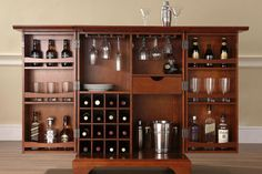 A home bar is great, but you don't always want it in full view. Explore some of the best bars that can be moved or hidden until it is time for the party.