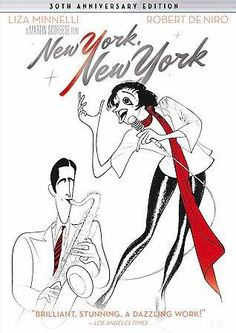 Martin Scorsese's NEW YORK, NEW YORK is a sparkling, nostalgic look at the big-band era of the 1940s, as well as the MGM musicals of the 1940s and 1950s. The story concerns Jimmy Doyle (Robert De Niro