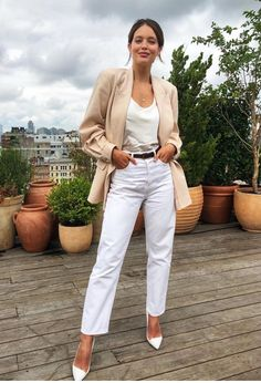 Emily Didonato, Work Fashion, Daily Fashion, Fashion Outfits, Hot Outfits, Business Outfits, Business Casual, Summer Work Outfits Office, Office Style