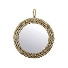 Best Rope Mirrors and Nautical Wall Decor! Discover the top-rated nautical themed rope wall decorations and rope themed mirrors. Nautical Bathroom Mirrors, Nautical Mirror, Nautical Wall Decor, Beach Wall Decor, Round Mirror With Rope, Rope Mirror, Round Wall Mirror, Beach Mirror, Mirror Shapes