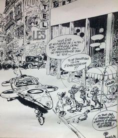 Spirou et Fantasio de Franquin