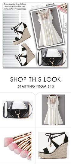 """ROMWE 10"" by melissa995 ❤ liked on Polyvore featuring WithChic"