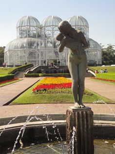 Jardim Botânico em Curitiba-Paraná-Brasil