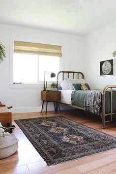 habitacion infantil estilo boho muebles vintage