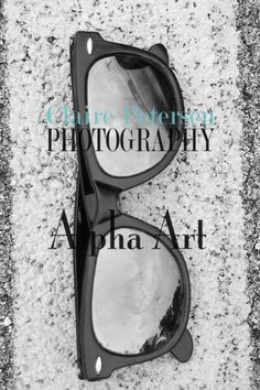 Love this Alpha Art Black and White by cp-photography. Letter Art. Letter Photography. Alphabet Photography.