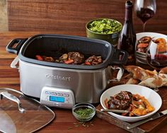 Cuisinart Multicooker. brown directly in it, steam veggies, or use it as a programmable slow-cooker.