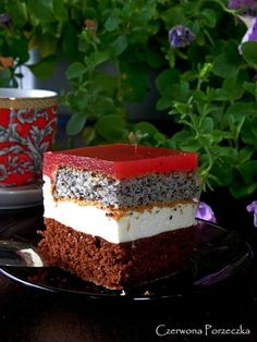 Czerwona Porzeczka: Arbuzowiec Cheesecake, Food And Drink, Polish, Baking, Sweet, Exercise, Foods, Recipes, Living Room