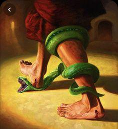 Spiritual Warrior, Genesis 3, Spirituality, Movie Posters, Painting, Tattoos, Ideas, Dog, Tatuajes
