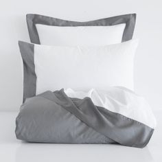 CONTRASTING PERCALE BEDDING - Bedding - Bedroom | Zara Home United States