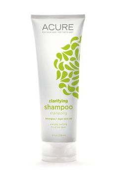It's not often that you hear of beauty products produced with *plant stem cells*, but that's the calling card of the Acure Organics line. Designed with unique natural extracts, we love this tea-tree oil shampoo for the way it banishes grease and eases scalp irritation. Acure Organics Lemongrass and Argan Stem Cell Shampoo, $10; target.com.