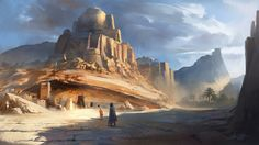 Desert City by ARTek92.deviantart.com on @deviantART