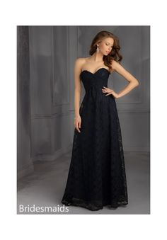 Bridesmaids Dresses 702 Lace Bridesmaid Dress Zipper Back. Available in all Solid Lace Colors. Sizes Available: 2-28.