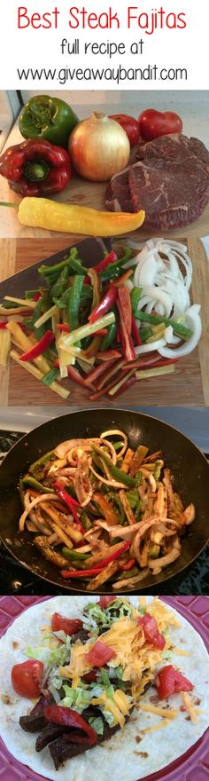 Best Easy Steak Fajita Recipe #recipe