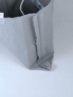 ikat bag: Make A Bag Chapter 8: Darted Tote