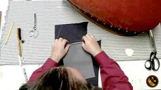 A demonstration on how to craft a tailored welt pocket for mens' and womens' tailored garments, coats, suit jackets, waistcoats and vests, and other items. B...