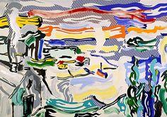 Coast Village, 1987, Roy Lichtenstein
