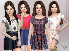Sims 4 CC's - The Best: Clothing for Girls by Lillka