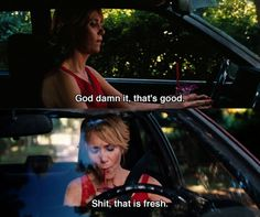 Bridesmaids. Funny shit.