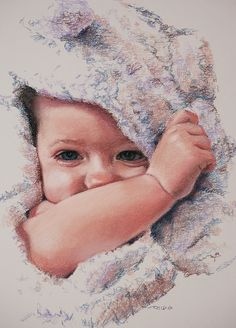 Peek A Boo, by Christopher Reid. Lovely little baby portrait.