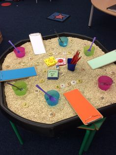 Goldilocks could be simple counting to fill cups Early Years Topics, Early Years Maths, Maths Eyfs, Eyfs Classroom, Traditional Tales, Traditional Stories, Educational Activities, Preschool Activities, Math Tables
