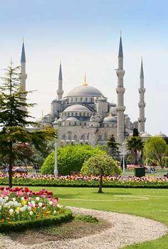 Mesquitas: Mesquita Azul - fotoviagensn - Turquia - Istanbul