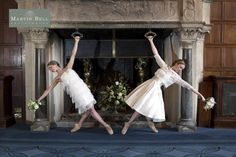 ballet wedding ideas Martin Bell Photography (1) LOVE THE DRESS ON THE RIGHT. SHORT AND SWEET