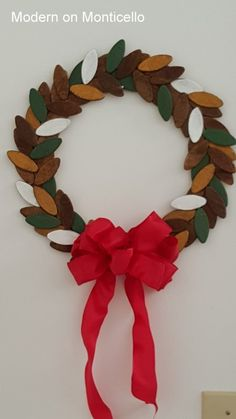 ~ The inspiration for this wreath was found in the tool department at Home Depot while shopping with my husband.
