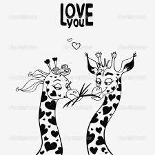 Afbeeldingsresultaat voor giraffe tekening