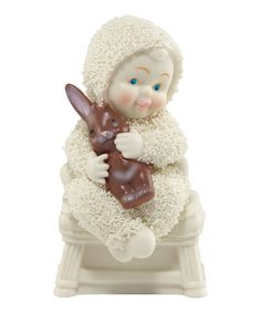 'Lend Me Your Ear' Figurine by Snowbabies #zulily #zulilyfinds