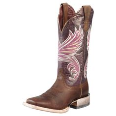 Ariat Purple Fortress Cowgirl Boots