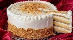 Best ever Milka cake recipe! This cake is the creamiest cake I've ever tasted adn the taste of Milka chocolate is absolutely fantastic! Torte Recepti, Kolaci I Torte, Cake Cookies, Cupcake Cakes, Bake My Cake, Cookie Recipes, Dessert Recipes, Torte Cake, Croatian Recipes