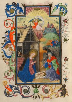 Nativity | Hours of Catherine of Cleves | Illuminated Manuscript | ca. 1440 | The Morgan Library & Museum