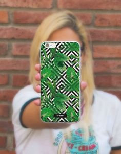 funda-movil-full-tropical-hojas-2 Phone Cases, See Through, Tropical Prints, Mobile Cases, Leaves, Phone Case