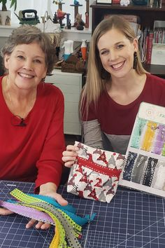 Join Jenny and Misty and learn how to create a Fancy Zipper bag using the new MSQC Fancy Zips in the replay of Missouri Star Live! Follow the link below to watch the LIVE replay now! #MissouriStarQuiltCo #MSQC #JennyDoan #MissouriStarLive #MistyDoan #FancyZips #ZipperBag #Sewing #Crafts #FabricCrafts #GiftIdeas #DIYGifts #HowToSew #Quilting