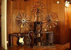 Steampunk Design, Steampunk Fashion, Industrial Goth, Steampunk Gadgets, Machine Age, Diesel Punk, Steam Punk, Victorian Era, Decoration