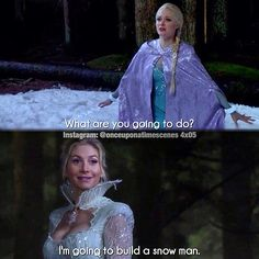 "Elsa and Snow Queen - 4 * 5 ""Breaking Glass"""