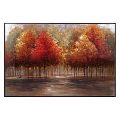 TY Persimmon Oil Painting with Frame Trisha Yearwood knows the value of home. She incorporated this framed still life of fall trees in the Persimmon collection to create an invigorating atmosphere to focus and savor each day. Painting Frames, Painting Prints, Paintings, Owl Wall Art, Acrylic Painting Lessons, Oversized Wall Art, Autumn Trees, Online Art Gallery, Framed Art Prints