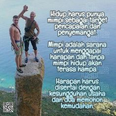 Mimpi dan Harapan Faith Quotes, Words Quotes, Doa, Islamic Quotes, Quotations, Affirmations, Wisdom, Motivation, Inspiration