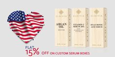 order now and get 15% discount on your custom serum boxes in remembrance of veterans day. book your order at 888-851-0765 or get a free custom quote.