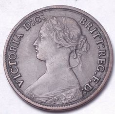Amazon.com : GREAT BRITAIN 1865 FARTHING...FOREIGN COIN : Everything Else