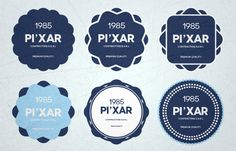 15+ Free Psd Badges by Wassim Awadallah, via Behance