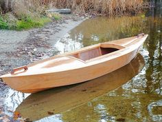 How To Build Wooden Boats With 16 Small-Boat Designs-Wood Boat Building Plans And Kits Wooden Boats For Sale, Wooden Boat Kits, Wood Boat Plans, Wooden Boat Building, Boat Building Plans, Wood Boats, Wooden Sailboat, Canoe Plans, Wooden Canoe