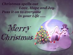 7 best Christmas & New year Messages images on Pinterest | Christmas ...