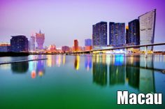 'Vegas of the East', Macau is as famous main attraction will be the dazzling fireworks display over Nam Van Lake. #Travel