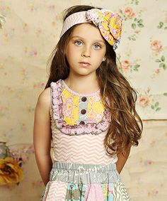 Another great find on #zulily! Sweet Pink Chevron Harper Tank - Infant, Toddler & Girls #zulilyfinds