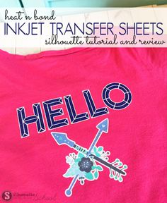If you've followed Silhouette School for any length of time you know that from time to time I will check out a new type of printable vinyl or printable heat transfer vinyl. Today is no exception! This