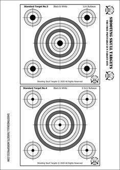 Pistol Targets, Rifle Targets, Paper Shooting Targets, Hd Phone Wallpapers, Target Practice, Air Rifle, Shooting Range, Essentials, Packing
