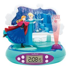 Radio reveil projecteur la reine des neiges